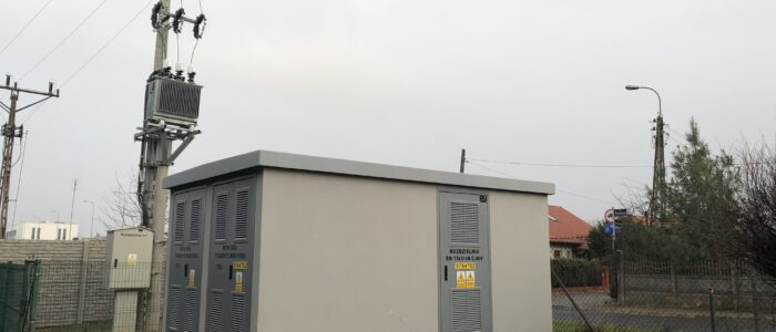 Stacja transformatorowa WGRO